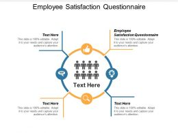 Employee Satisfaction Questionnaire Ppt Powerpoint Presentation Portfolio Cpb