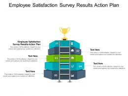 Employee Satisfaction Survey Results Action Plan Ppt Powerpoint Presentation Portfolio Cpb