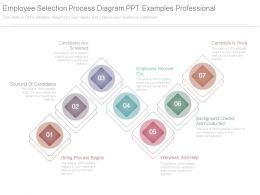 Employee Selection Process Diagram Ppt Examples Professional