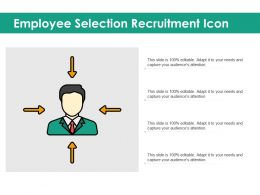 Employee Selection Recruitment Icon