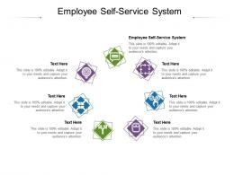 Employee Self Service System Ppt Powerpoint Presentation File Topics Cpb