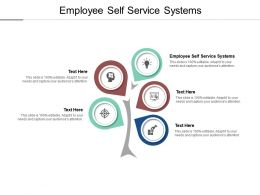 Employee Self Service Systems Ppt Powerpoint Presentation Summary Portrait Cpb