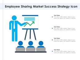 Employee Sharing Market Success Strategy Icon