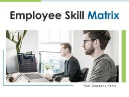 Employee Skill Matrix Powerpoint Presentation Slides