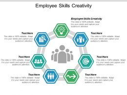 Employee Skills Creativity Ppt Powerpoint Presentation Outline Demonstration Cpb