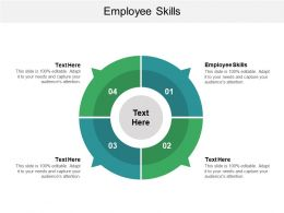 Employee Skills Ppt Powerpoint Presentation File Layout Cpb