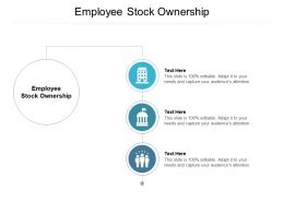 Employee Stock Ownership Ppt Powerpoint Presentation Slides Objects Cpb