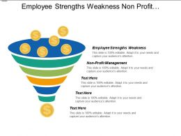 Employee Strengths Weakness Non Profit Management Project Management Cpb