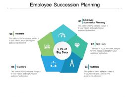 Employee Succession Planning Ppt Powerpoint Presentation Slides Show Cpb