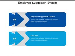 Employee Suggestion System Ppt Powerpoint Presentation Gallery Background Image Cpb