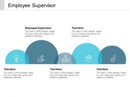 Employee Supervisor Ppt Powerpoint Presentation Slides Format Cpb