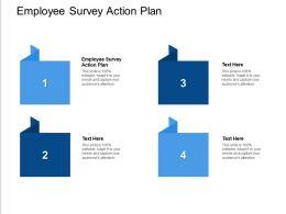 Employee Survey Action Plan Ppt Powerpoint Presentation Ideas Clipart Cpb