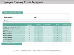 employee_survey_form_template_powerpoint_slide_ideas_Slide01