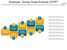 Employee Survey Guide Example Of Ppt