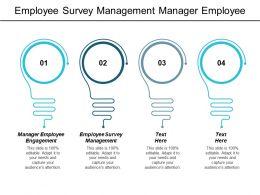 Employee Survey Management Manager Employee Engagement Virtual Communication Work Cpb