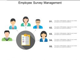 Employee Survey Management Powerpoint Guide