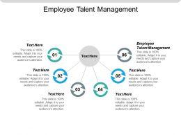 Employee Talent Management Ppt Powerpoint Presentation Styles Design Ideas Cpb