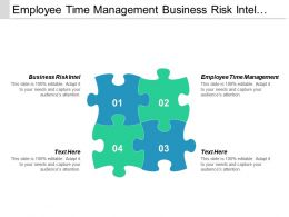 Employee Time Management Business Risk Intel Consumer Reports Computers Cpb
