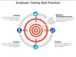 Employee Training Best Practices Ppt Powerpoint Presentation Slides Show Cpb