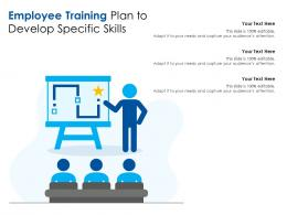 Employee Training Plan To Develop Specific Skills