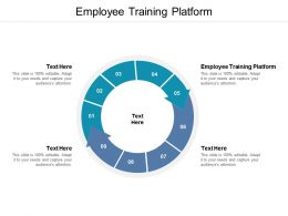 Employee Training Platform Ppt Powerpoint Presentation Show Picture Cpb