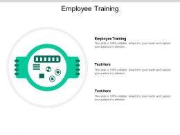 Employee Training Ppt Powerpoint Presentation File Graphic Images Cpb
