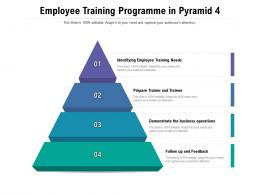 Employee Training Programme In Pyramid 4