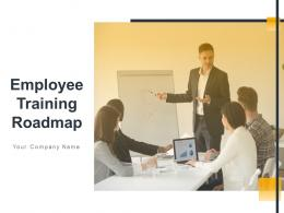 Employee Training Roadmap Powerpoint Presentation Slides