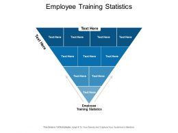 Employee Training Statistics Ppt Powerpoint Presentation Visual Aids Layouts Cpb