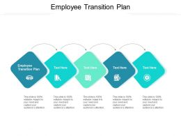 Employee Transition Plan Ppt Powerpoint Presentation Styles Demonstration Cpb