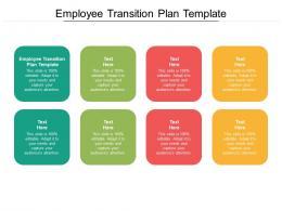 Employee Transition Plan Template Ppt Powerpoint Presentation Portfolio Display Cpb