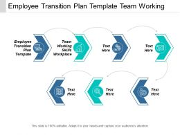 Employee Transition Plan Template Team Working Skills Workplace Cpb