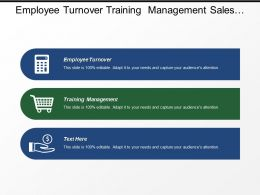 Employee Turnover Training Management Sales Pipeline Project Status