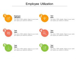 Employee Utilization Ppt Powerpoint Presentation Visual Aids Icon Cpb
