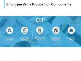Employee Value Proposition Components Employment Brand B301 Ppt Powerpoint Presentation