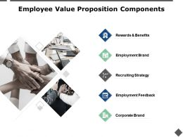 Employee Value Proposition Components Employment Brand Ppt Powerpoint Presentation