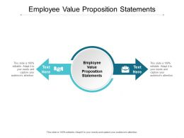 Employee Value Proposition Statements Ppt Powerpoint Presentation File Portfolio Cpb