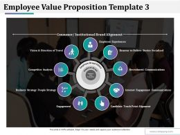 Employee Value Proposition Template 3 Ppt Styles Influencers