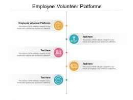 Employee Volunteer Platforms Ppt Powerpoint Presentation Infographics Cpb