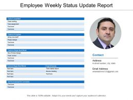 Employee Weekly Status Update Report
