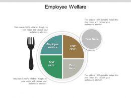 Employee Welfare Ppt Powerpoint Presentation Gallery Deck Cpb
