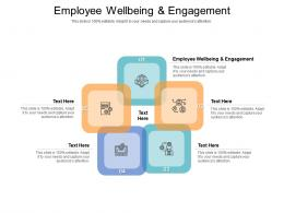 Employee Wellbeing And Engagement Ppt Powerpoint Gallery Cpb