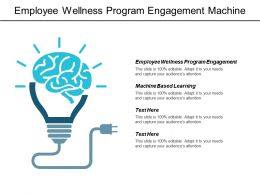 Employee Wellness Program Engagement Machine Based Learning Strategy Agility Cpb