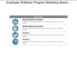 Employee Wellness Program Marketing Brand Positioning Job Opportunities Cpb