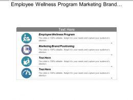 Employee Wellness Program Marketing Brand Positioning Job Opportunities Cpb