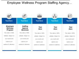 Employee Wellness Program Staffing Agency Business Meeting Cpb