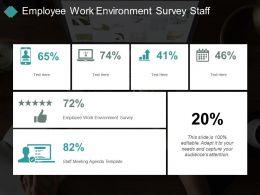 Employee Work Environment Survey Staff Meeting Agenda Template Cpb