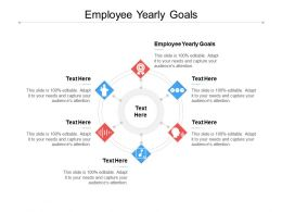 Employee Yearly Goals Ppt Powerpoint Presentation Gallery Objects Cpb