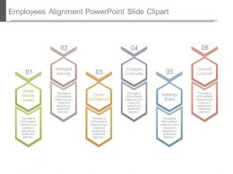 Employees Alignment Powerpoint Slide Clipart