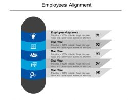 Employees Alignment Ppt Powerpoint Presentation Gallery Clipart Cpb